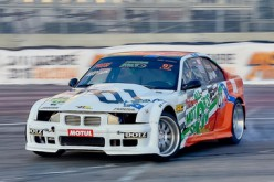 La finale della King of Italy Drift Super Cup a Franciacorta