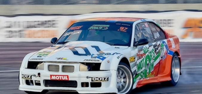 La finale della King of Italy Drift Super Cup a Franciacorta