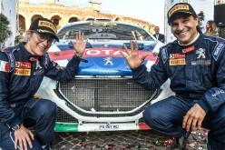 Sparco al fianco dei Campioni. Andreucci-Andreussi centrano il 10° titolo con Peugeot. In F2 trionfo di Leclerc