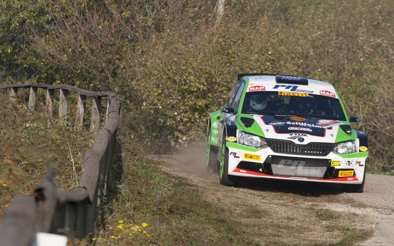 A Paolo Andreucci il CIR 2017. A Luca Rossetti la vittoria al Rally due Valli