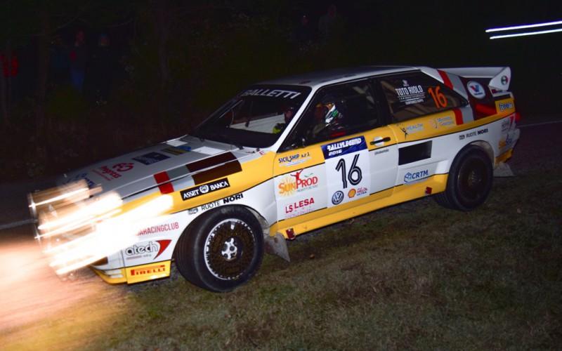 Balletti Motorsport: è l'ora del Rallylegend
