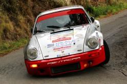 Da Zanche allo spettacolo del Monza Rally Show su Porsche