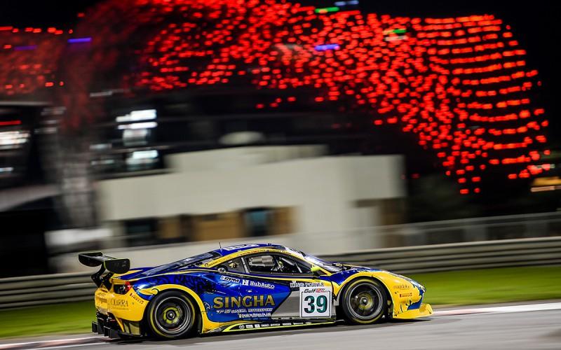 """Giorgio Roda conquista il podio alla """"Gulf 12 Hours"""" di Abu Dhabi"""