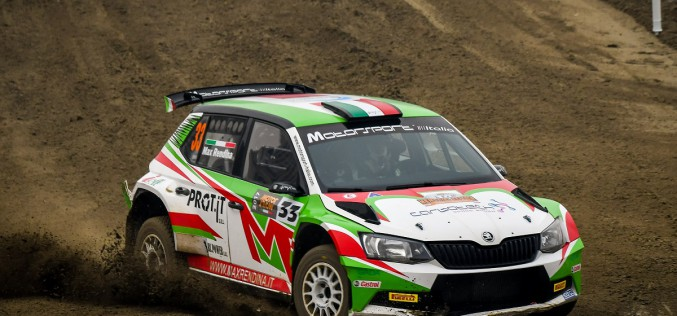 Test ad Assisi per Max Rendina in vista del Rally di Sperlonga