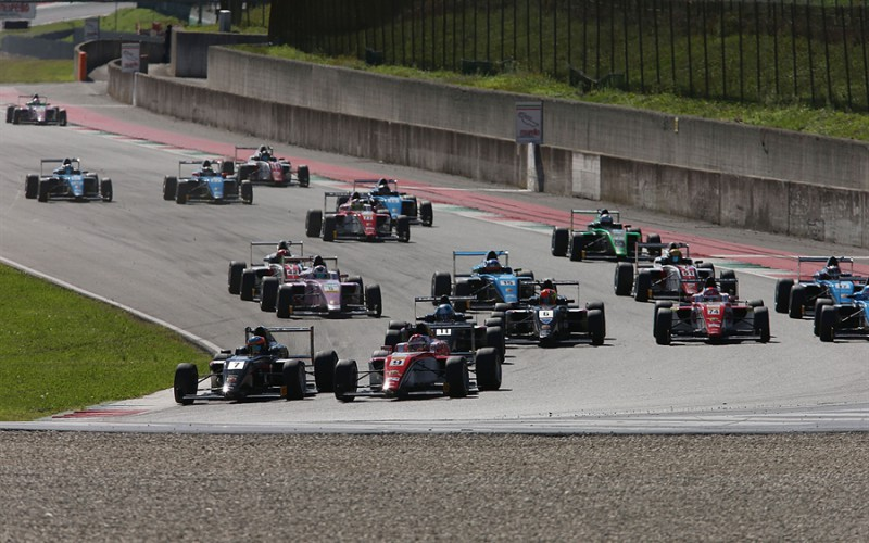 Successo di squadre e piloti al via dell'Italian F.4 Championship Powered by Abarth 2018