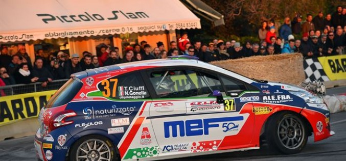 Tommaso Ciuffi con CST Sport vince la classifica junior al Rally del Ciocco