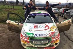 Tommaso Ciuffi e Nicolò Gonella vincono il 12° Rally Città di Arezzo Valtiberina