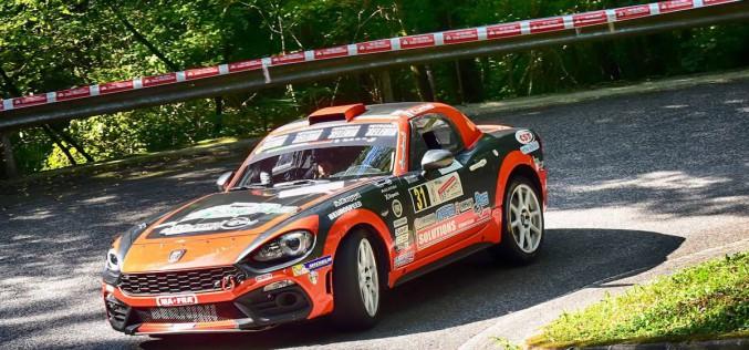 Christopher Lucchesi pronto all'impegno tricolore: dal Ciocco avvia la sfida nel Trofeo Abarth 124 Rally