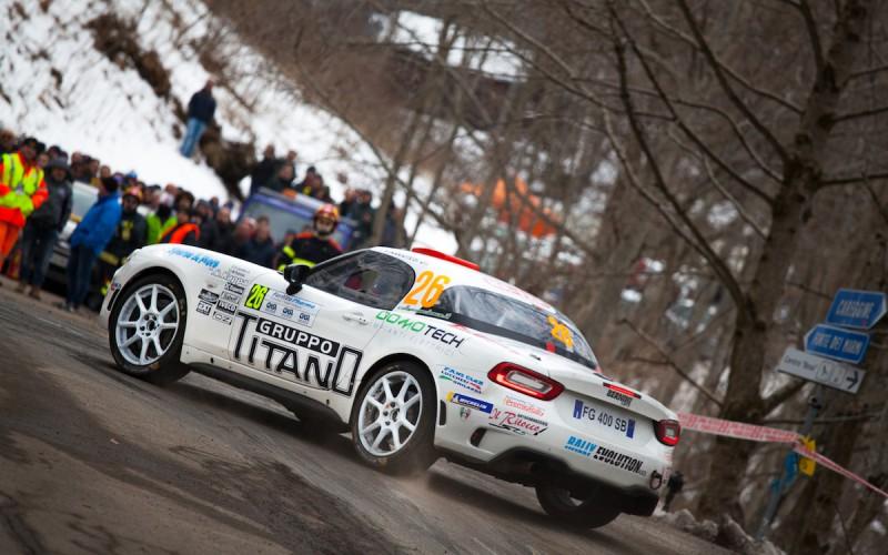 Christopher Lucchesi al successo nel primo round del Trofeo Abarth 124 rally