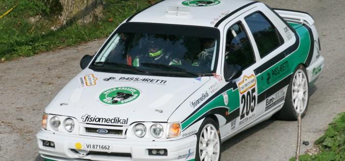 Scuderia Palladio Historic con tre equipaggi al Rally Vallate Aretine