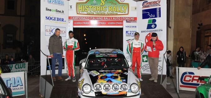 A Bossalini e Ratnayake l'Historic Rally delle Vallate Aretine