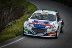 Paolo Andreucci e Anna Andreussi, Peugeot 208 T16 R5, vincono il 41°Rally Il Ciocco e Valle del Serchio