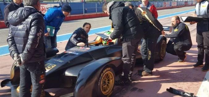Raffaele Giammaria, che forza la Wolf Thunder per il Campionato Italiano Sport Prototipi!