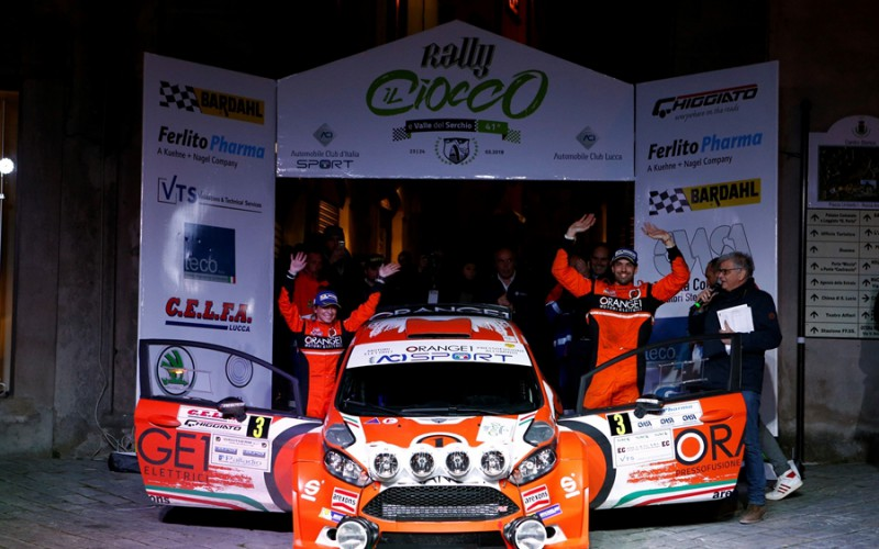 Orange1 Racing e Campedelli sul podio al Ciocco