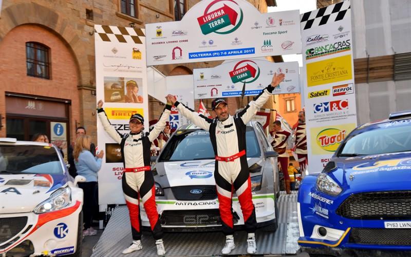 Aperte le iscrizioni per l'edizione del decennale del Liburna Terra, primo appuntamento del Campionato Italiano Rally Terra