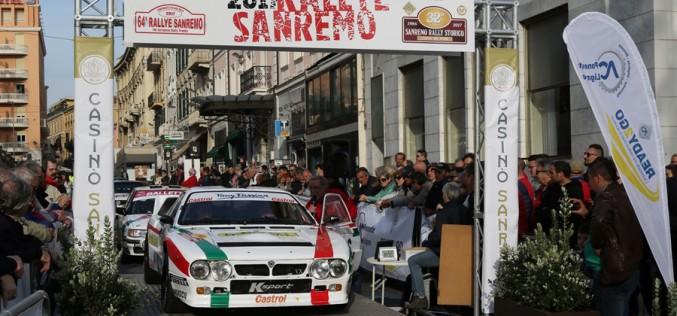 Il 33° Rally Sanremo Storico fa primavera