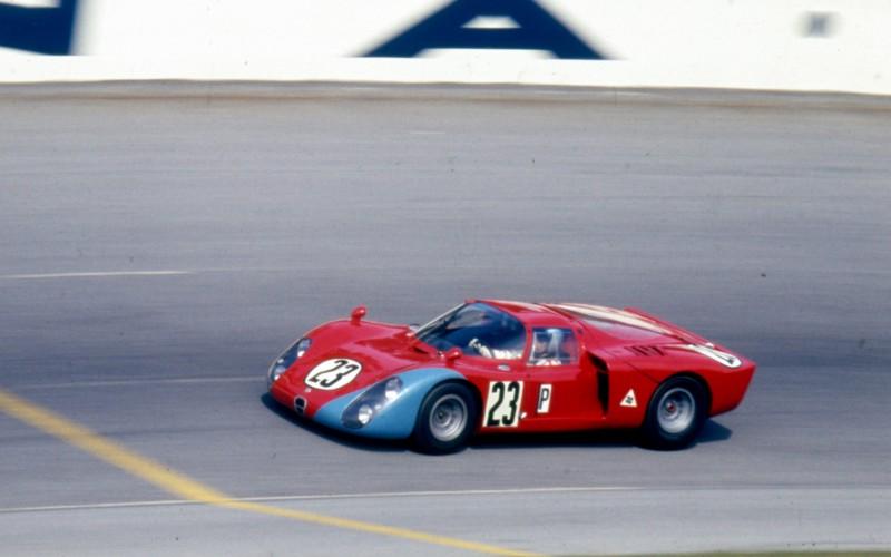 Alfa Romeo Tipo 33/2 Daytona protagonista a Imola del Motor Legend Festival