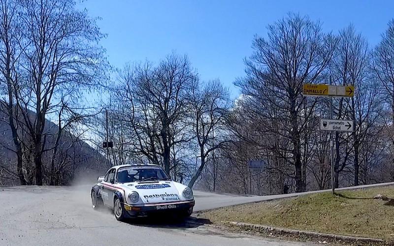Da Zanche debutta sulla Porsche gruppo B al Rally di Sanremo