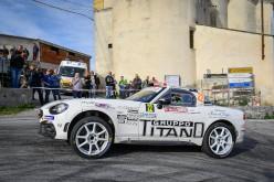 A Christopher Lucchesi anche il secondo round dell'Abarth 124 rally Selenia International Challenge a Sanremo