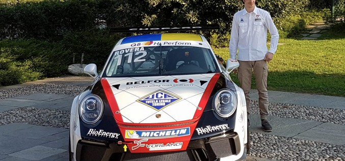 Subito Imola e Spa per Rovera sulla nuova Porsche 911 GT3 Cup