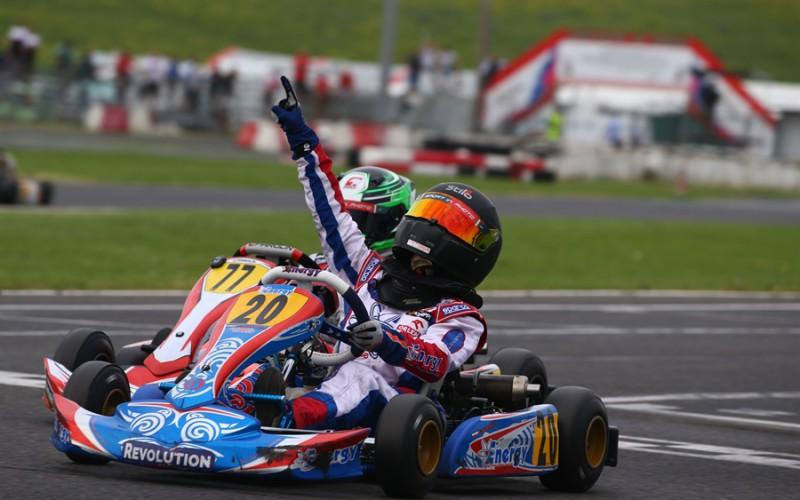Il Circuito di Siena ha inaugurato il Campionato Italiano ACI Karting