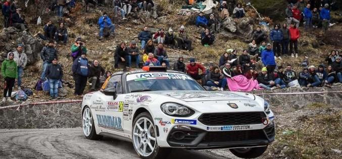 Christopher Lucchesi pronto per il secondo round dell'Abarth 124 rally Selenia International Challenge