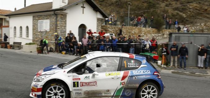 Paolo Andreucci e Anna Andreussi trionfano nel 65°Rallye Sanremo