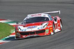 Stefano Gai affianca Giancarlo Fisichella sulla Ferrari 488 della Scuderia Baldini 27