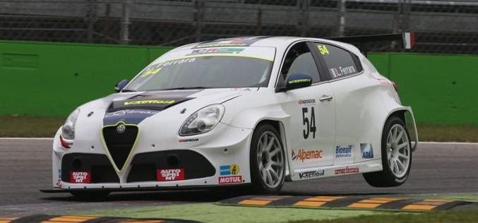 Daniele Vernuccio, con Gigi Ferrara e l'Alfa Romeo la sfida è tutta tricolore per V-Action nel TCR Italy.