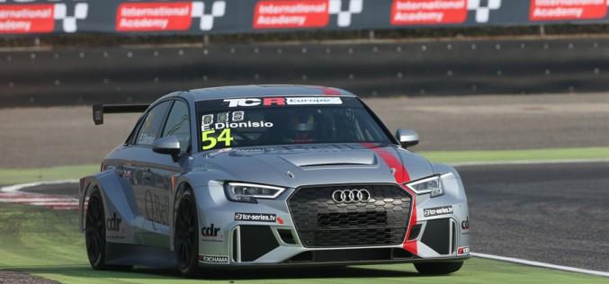 Ermanno Dionisio, è debutto nel TCR Italy con l'Audi RS3 Lms DSG di Pit Lane Competizioni.