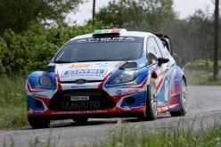 Stefano Albertini e Danilo Fappani, Ford Fiesta Wrc, conquistano il 42°Rally 1000 Miglia