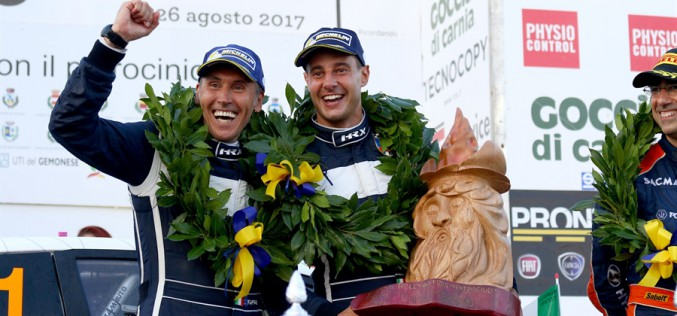 Da Brescia a Brescia: Stefano Albertini riparte dal suo Rally 1000 Miglia nel CIWRC 2018