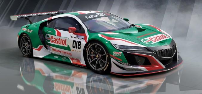 Castrol Honda Racing scende in pista alla 24 ore di Spa con NSX GT3