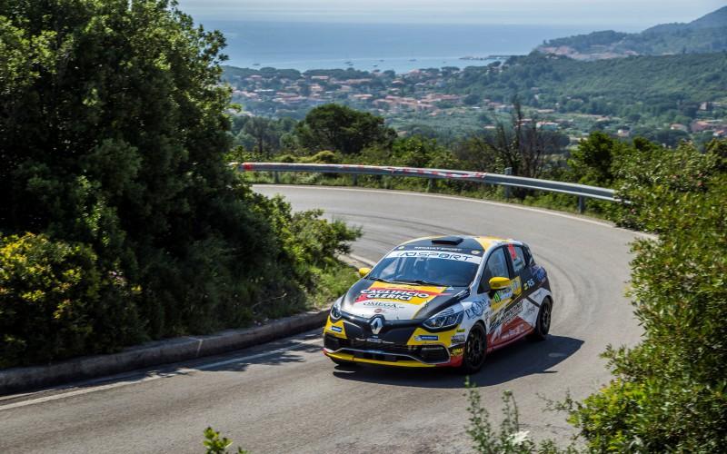 Trofei Renault Rally: al 51° Rally Elba vincono Ivan Ferrarotti (Clio R3 top) e Alberto Paris (Twingo R1 top)