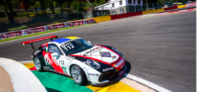 Esordio con vittoria per Rovera nella Carrera Cup France a Spa