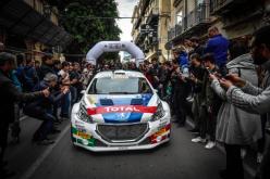 Andreucci e Peugeot sul secondo gradino del podio al Targa Florio e consolidano il 1° posto in campionato