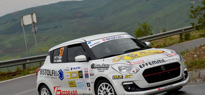 Suzuki Rally Trophy: al Rallye Elba sfida aperta tra Cogni, Martinelli e Rivia