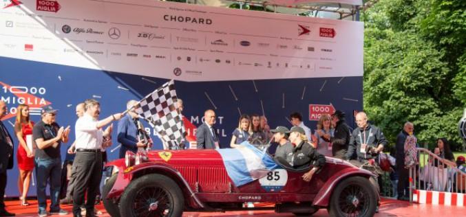 La coppia argentina Tonconogy – Ruffini ha vinto la 1000 Miglia 2018