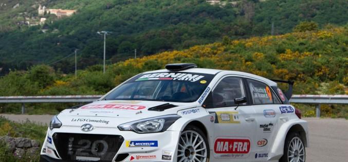 Andrea Nucita e Marco Vozzo, Hyundai I20 R5, vincono la 102^Targa Florio