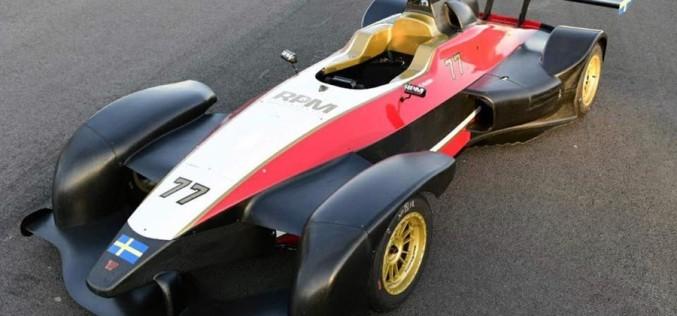 RPM Race Promote, c'è la bandiera svedese sulla Wolf di Simon Hultén per il Campionato Italiano Sport Prototipi.