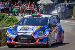 Stefano Albertini e Danilo Fappani, su Ford Fiesta Wrc, vincono il 51°Rally del Salento
