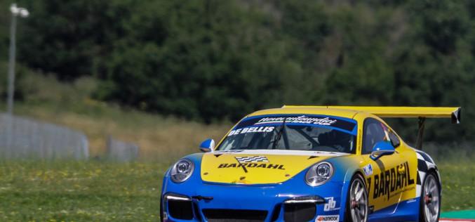 Team DB Motorsport in grande forma a Vallelunga: De Bellis conquista la seconda piazza di campionato