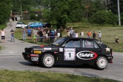 "A ""Lucky"" e Fabrizia Pons il Rally Storico Campagnolo"