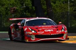 Misano, Michele Rugolo sostituisce Giancarlo Fisichella sulla Ferrari 488 della Scuderia Baldini 27