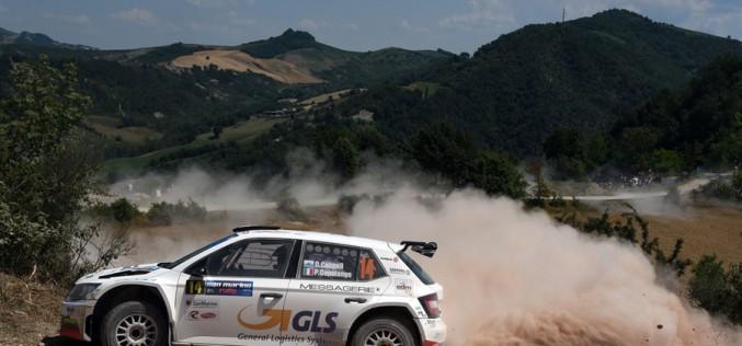 Daniele Ceccoli e Piercarlo Capolongo, Skoda Fabia R5, vincono il 46°San Marino Rally