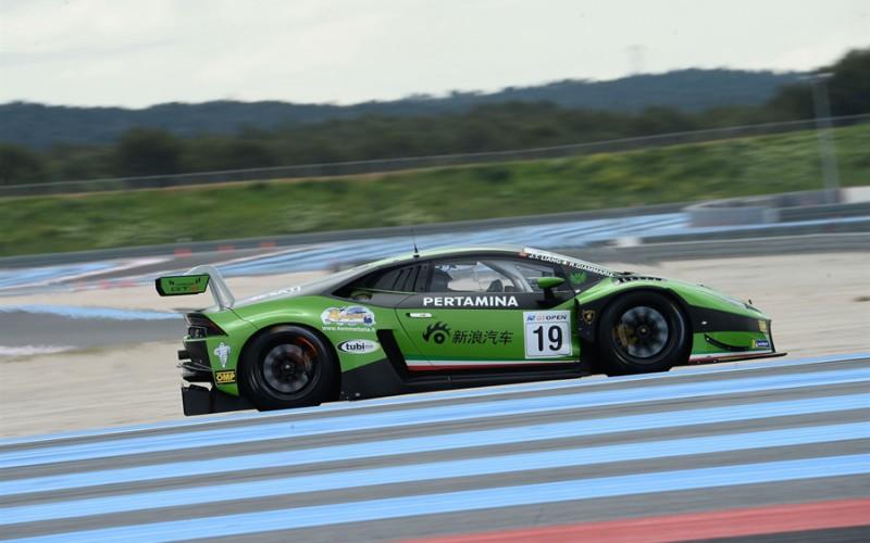 Mugello, è Venturini-Postiglione (Lamborghini Huracan) il secondo equipaggio dell'Imperiale Racing nella classe GT3