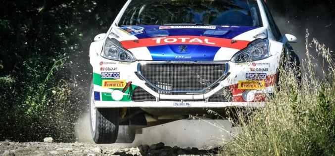 Rally Adriatico: Peugeot difende la leadership con gli equipaggi Andreucci/Andreussi e De Tommaso/Ferrara