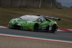 Daniel Zampieri e Giacomo Altoè (Lamborghini Huracan) si aggiudicano al Mugello  il Campionato Italiano Gran Turismo 2018