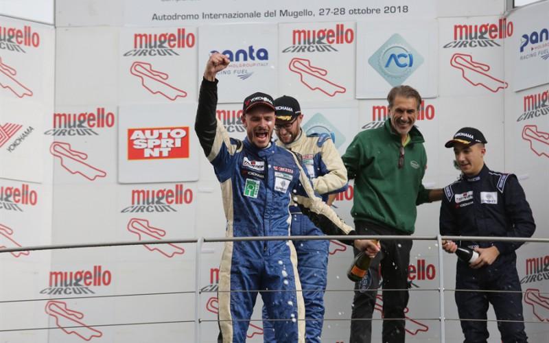 Matteo Pollini si laurea Campione Italiano Sport Prototipi nella gara vinta dal cugino Giacomo