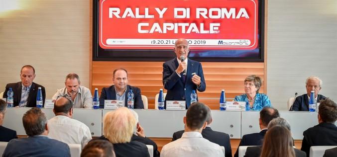 Spettacolo e grandi numeri per il 7° Rally di Roma Capitale